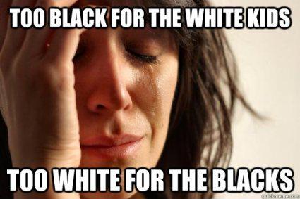 too black